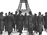 Hitler and Eiffel Tower