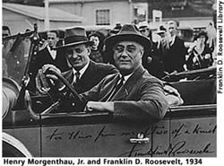 FDR and Morgenthau